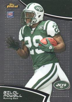 2011 Finest #33 Bilal Powell Front
