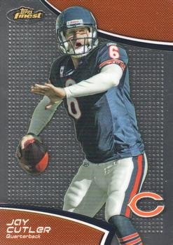 2011 Finest #49 Jay Cutler Front