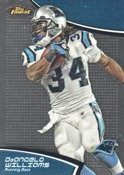 2011 Finest #74 DeAngelo Williams Front