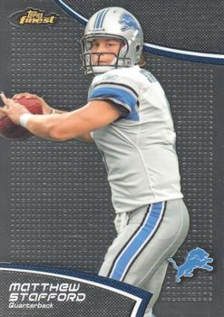 2011 Finest #89 Matthew Stafford Front