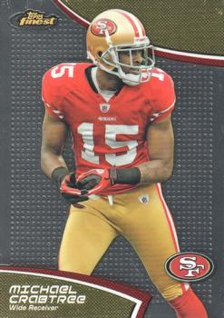 2011 Finest #91 Michael Crabtree Front
