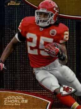 2011 Finest #99 Jamaal Charles Front