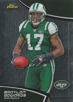 2011 Finest #109 Braylon Edwards Front