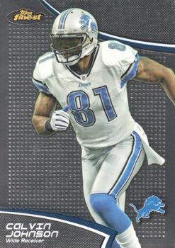 2011 Finest #117 Calvin Johnson Front
