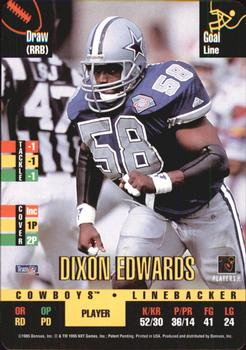 1995 Donruss Red Zone #69 Dixon Edwards Front