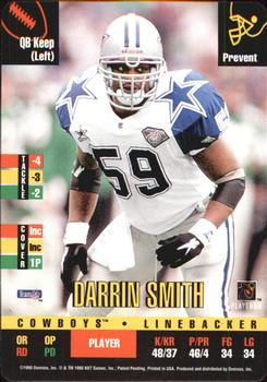 1995 Donruss Red Zone #76 Darrin Smith Front