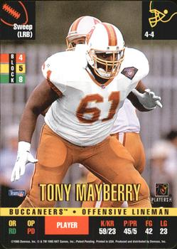 1995 Donruss Red Zone #322 Tony Mayberry Front