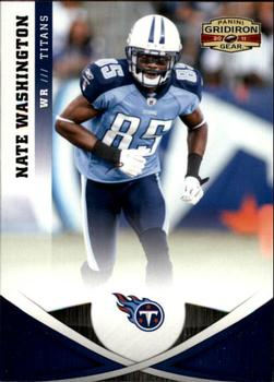 2011 Panini Gridiron Gear #52 Nate Washington Front