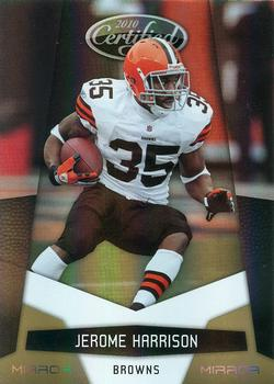 2010 Panini Certified - Mirror Gold #35 Jerome Harrison  Front