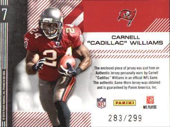 ADRENALYN xl NFL-Carnell williams-Buccaneers #es30
