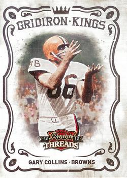 2010 Panini Threads - Gridiron Kings #34 Gary Collins  Front