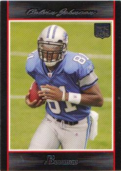 2007 Bowman #145 Calvin Johnson Front