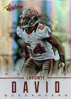 2012 Panini Absolute #159 Lavonte David Front
