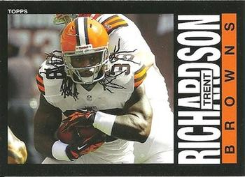 2013 Topps Archives #75a Trent Richardson Front
