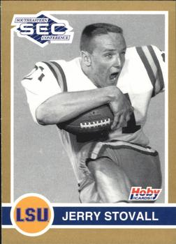1991 Hoby Stars of the SEC #201 Jerry Stovall Front