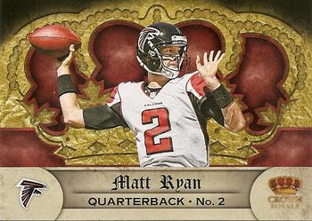 2012 Panini Crown Royale - Retail #86 Matt Ryan Front
