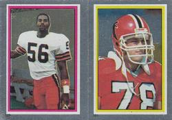 1984 Topps Stickers #139 Chip Banks/Mike Kenn Front