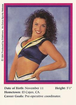 1994 95 Sideliners Pro Football Cheerleaders Football