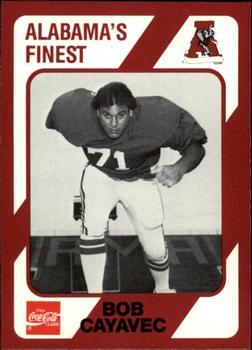 1989 Collegiate Collection Alabama Coke 580 Football