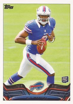 2013 Topps #215a EJ Manuel Front
