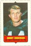 1969 Topps - Four-in-One Singles #NNO Donny Anderson Front