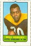1969 Topps - Four-in-One Singles #NNO Bill Asbury Front