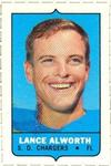 1969 Topps - Four-in-One Singles #NNO Lance Alworth Front