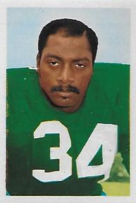 1972 NFLPA Wonderful World Stamps #144 MacArthur Lane Front