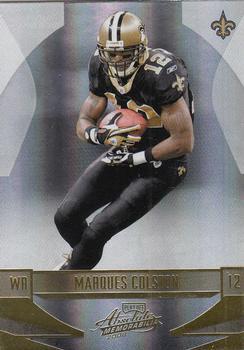 1c4a808ad 2008 Playoff Absolute Memorabilia  93 Marques Colston