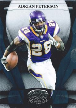 2008 Leaf Certified Materials #79 Adrian Peterson Front