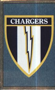 1990 Panini Stickers #159 San Diego Chargers Crest Front