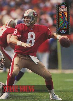 1994 Classic NFL Experience #91 Steve Young Front
