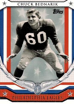 2008 Topps - NFL Honor Roll #HR-CB Chuck Bednarik Front