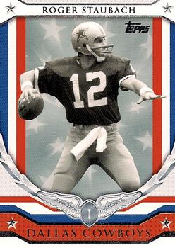 2008 Topps - NFL Honor Roll #HR-RS Roger Staubach Front