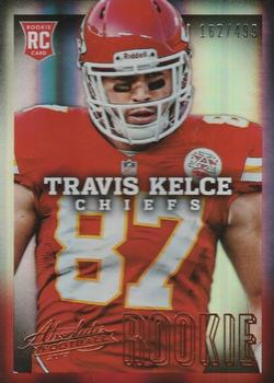 2013 Panini Absolute #192 Travis Kelce Front