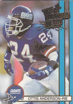 1990 Action Packed All-Madden #6 Ottis Anderson Front