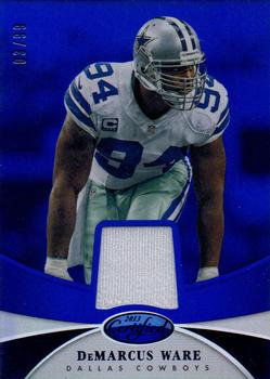 2013 Panini Certified - Mirror Blue Materials #17 DeMarcus Ware Front