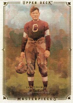 2008 Upper Deck Masterpieces #44 Jim Thorpe Front