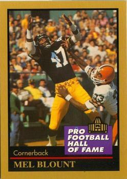 Amerikaans voetbal 1999 Upper Deck Century Legends #36 Mel Blount Pittsburgh Steelers Football Card Verzamelingen