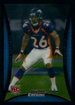 2008 Bowman Chrome #BC27 Jack Williams Front