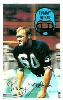 1970 Kellogg's #56 Tommy Nobis Front