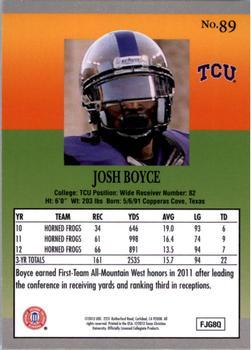 2013 Fleer Retro #89 Josh Boyce Back