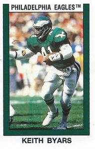7547b3343ad Keith Byars Gallery | The Trading Card Database