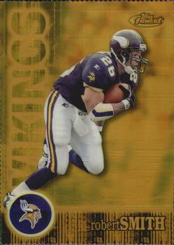 2000 Finest - Gold Refractors #120 Robert Smith Front