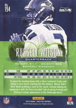 Russell Wilson Gallery The Trading Card Database