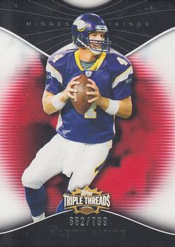 2009 Topps Triple Threads #11 Brett Favre Front