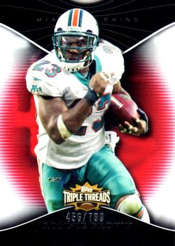 2009 Topps Triple Threads #47 Ronnie Brown Front