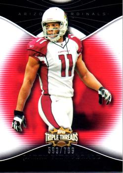 2009 Topps Triple Threads #58 Larry Fitzgerald Front