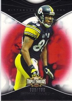 2009 Topps Triple Threads #70 Hines Ward Front