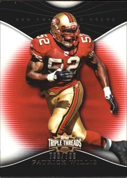 2009 Topps Triple Threads #90 Patrick Willis Front